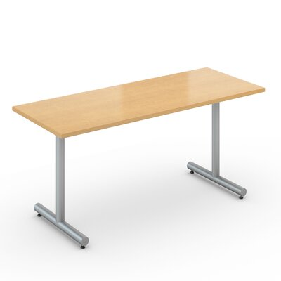 Saturn 20 x 60 Desk Size Training Table Color: Fusion Maple Product Image 491