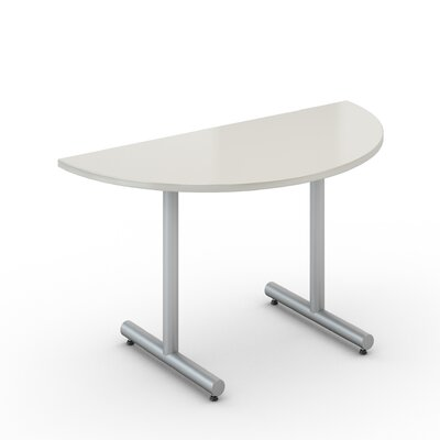 Saturn Training Table Tabletop Finish: Dover White, Size: 30 x 30
