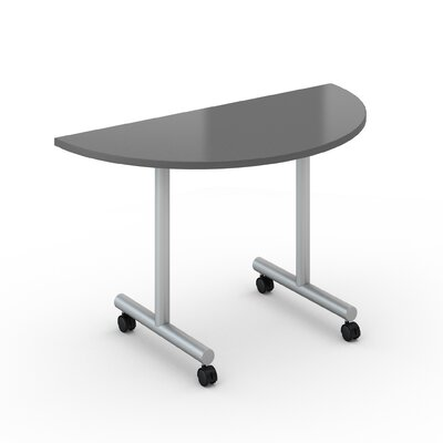 Saturn Training Table with Wheels Tabletop Finish: Citadel, Size: 30 x 60