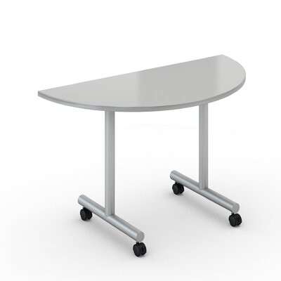 48 W Saturn Training Table with Wheels Tabletop Finish: Folkstone, Size: 24 x 48