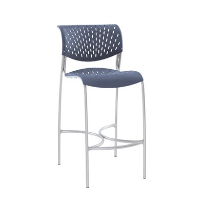 Hannah 30 Bar Stool Color: Blue Heron