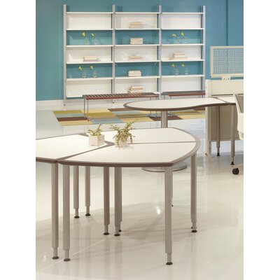 32 W Clara Diamond Training Table Edge Finish: Dolphin