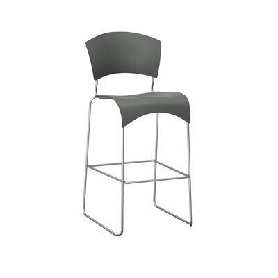 Jazz 30 Bar Stool Upholstery: Falcon