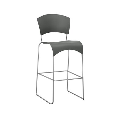 Tess 30 inch Bar Stool Upholstery: Shale