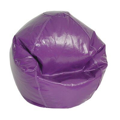 Zipped Bean Bag Chair Upholstery: Grape
