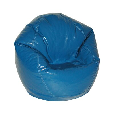 Zipped Bean Bag Chair Upholstery: Nautical Blue