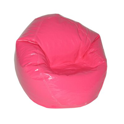 Wetlook Bean Bag Chair Upholstery: Magenta