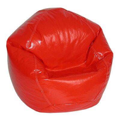 Zipped Bean Bag Chair Upholstery: Lipstick