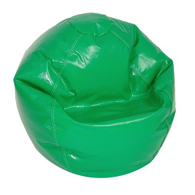 Zipped Bean Bag Chair Upholstery: Green