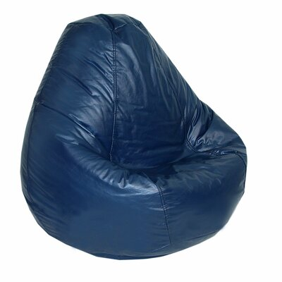 Lifestyle Bean Bag Lounger Upholstery: Navy