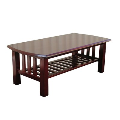 Easy financing Elite Coffee Table Finish: Walnut...