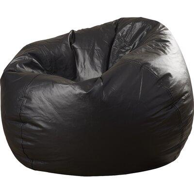 Fun Factory Bean Bag Chair Color: Black
