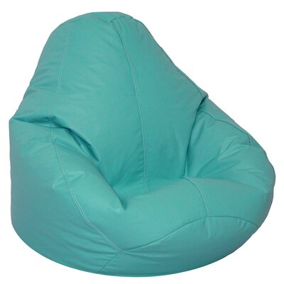 Bean Bag Lounger Upholstery: Aqua