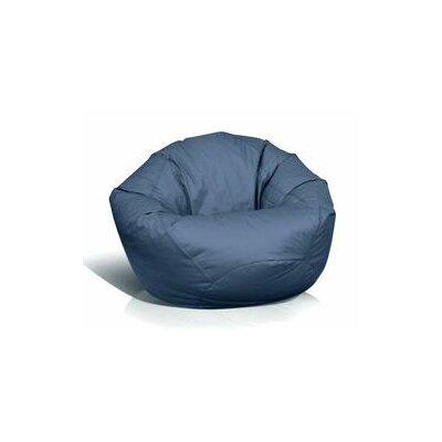 Fun Factory Bean Bag Chair Color: Navy