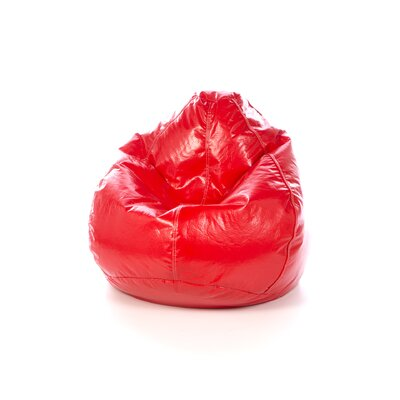 Vinyl Bean Bag Chair Upholstery: Lipstick