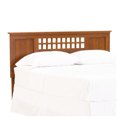 Bayfield Panel Headboard Color: Traditions Cherry, Size: Queen