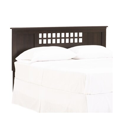 Bayfield Panel Headboard Color: Espresso Maple, Size: Full