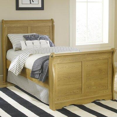 Oak Creek Sleigh Bed Size: Twin