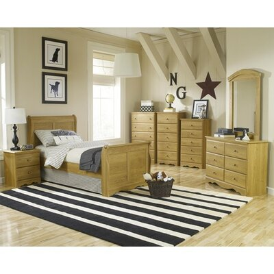 Oak Creek Sleigh Customizable Bedroom Set