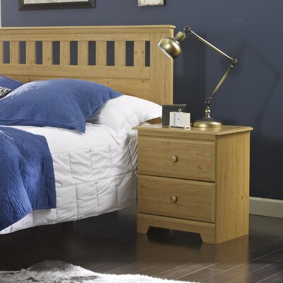 Eagle River 2 Drawer Nightstand