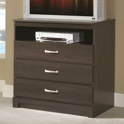No Da 3 Drawer Media Chest
