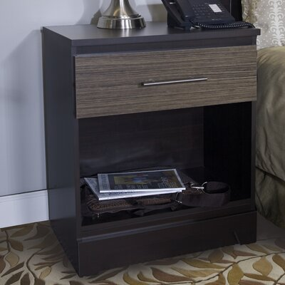 Deco 1 Drawer Nightstand