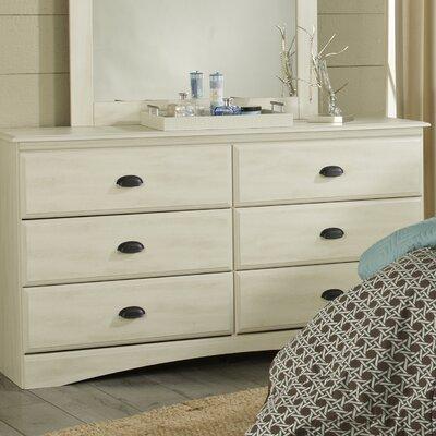 Durand 6 Drawer Standard Dresser