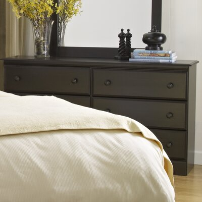 Washburn 6 Drawer Standard Dresser