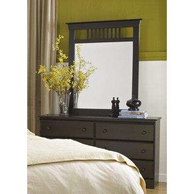 Washburn 6 Drawer Double Dresser with Mirror