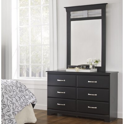 Trenton 6 Drawer Dresser with Mirror