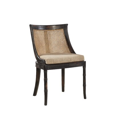 Spoonback Side Chair Color: Antiqued / Textured Worn Ebony