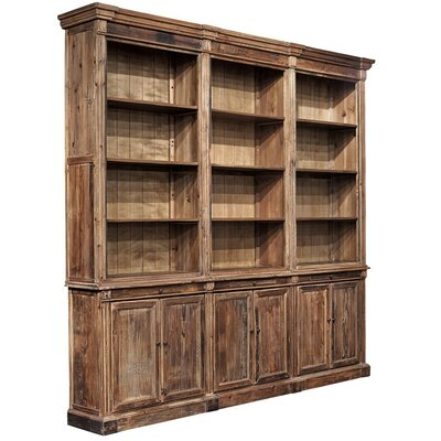 Old Fir Grand Oversized Set Bookcase 52 Photo