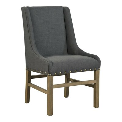 Low Arm Chair (Set of 2) Upholstery: Grey
