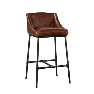 Pipe Iron Bar Stool