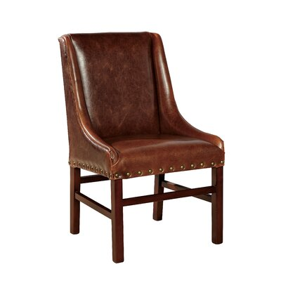 Low Leather Desk Chair
