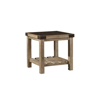 Warnell Bluestone Top End Table