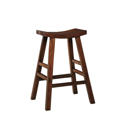 Edwards Bay 30 Bar Stool (Set of 2) Finish: Brown Birch/Oak