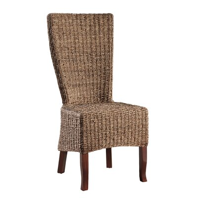 Madura Wicker Parson Chair (Set of 2)