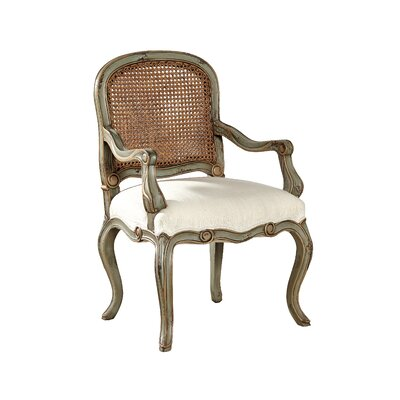 Bordelaise Fabric Arm Chair