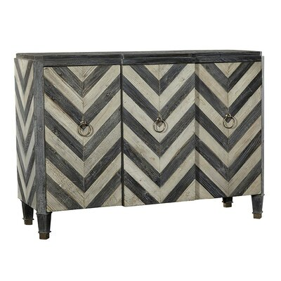 3 Door Chevron Sideboard
