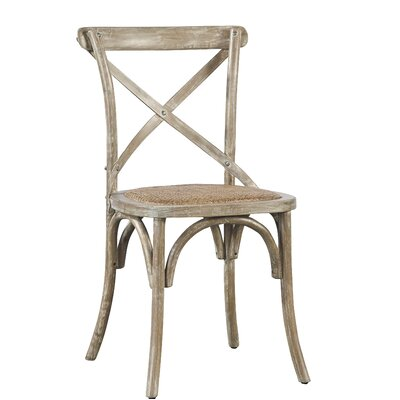 Bentwood Dining Chair (Set of 2) Color: Silver