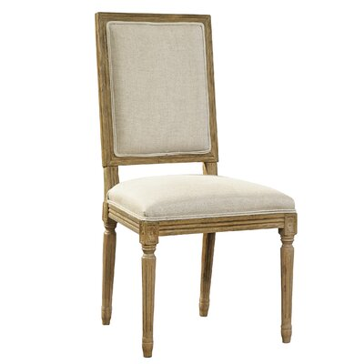 Upholstered Dining Chair Upholstery Color: Natural