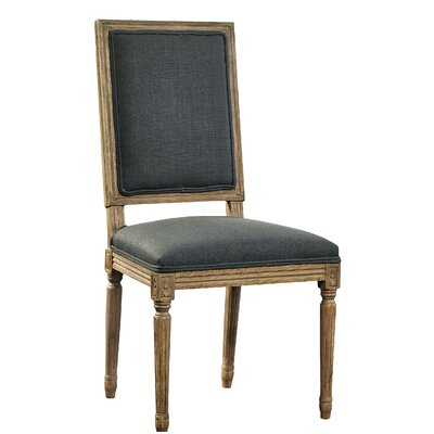 Upholstered Dining Chair Upholstery Color: Slate