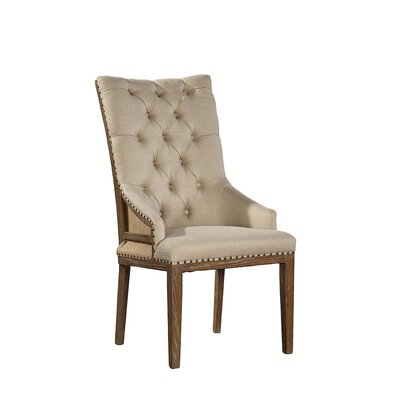 Boyles Highback Upholstered Dining Chair (Set of 2)