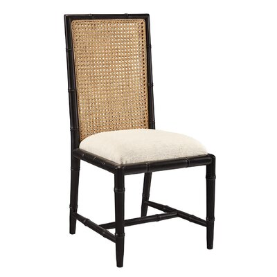 Mizell Dining Chair (Set of 2) Frame Color: Black