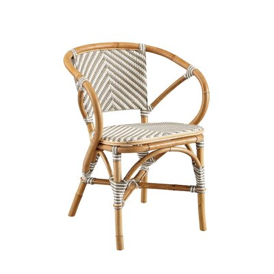 Coletta Bistro Barrel Chair Color: Gray
