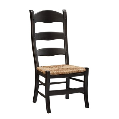 Bartolome Ladderback Solid Wood Dining Chair (Set of 2)
