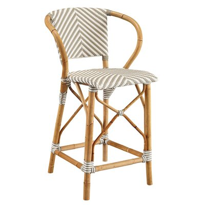 Coletta Bar Stool Color: Gray
