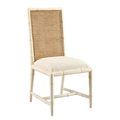 Mizell Dining Chair (Set of 2) Frame Color: White