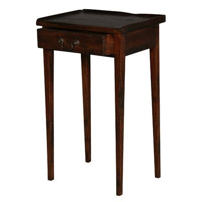Michelle Martini End Table Finish: Warm Brown